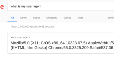 what is my user agent