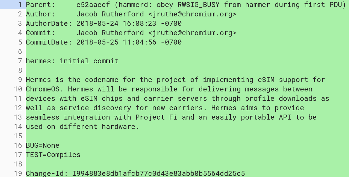 Project Hermes with Fi