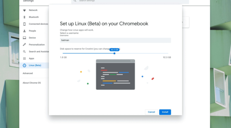 Run Linux on your Chromebook