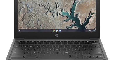 HP Chromebook 11a Ash front