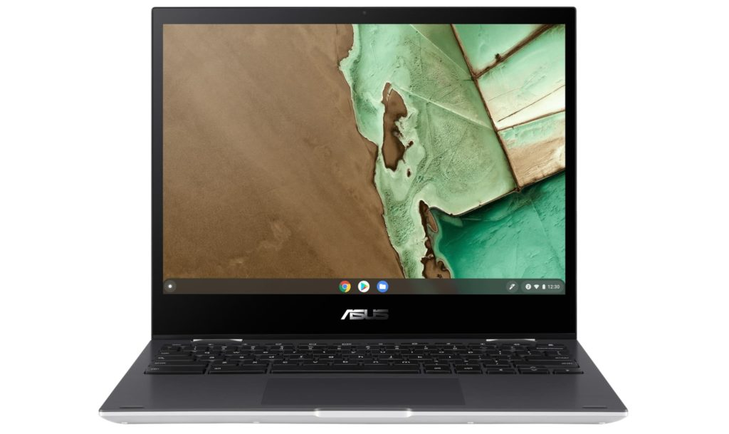 ASUS Chromebook Flip CM3 convertible front and keyboard