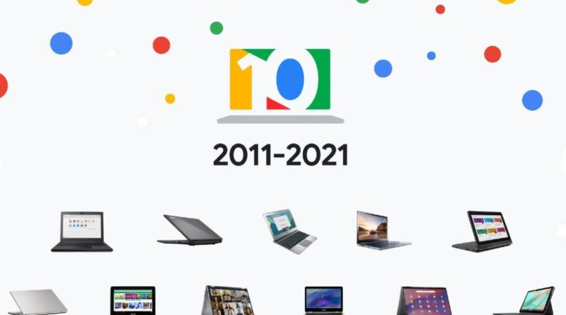 10 years of Chromebooks