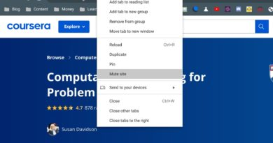 Group tabs in Chrome OS