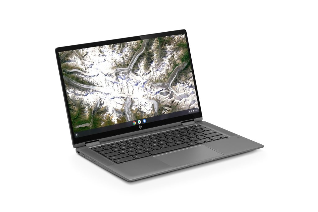 HP Chromebook x360 14c with 11th-gen Core i3